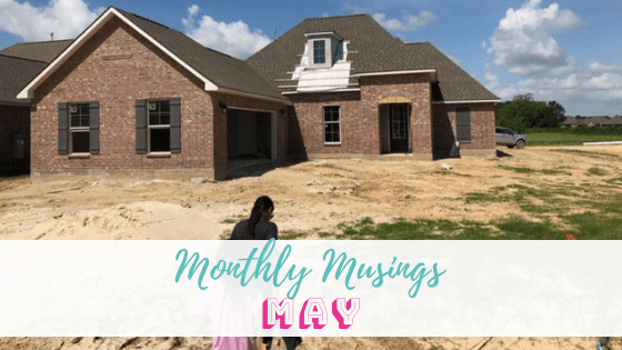 Monthly Musing: May