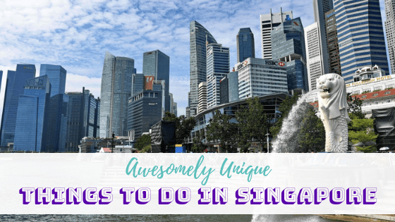 Awesomely Unique Things to do in Singapore