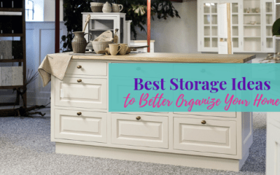 Best Storage Ideas to Better Organize Your Home