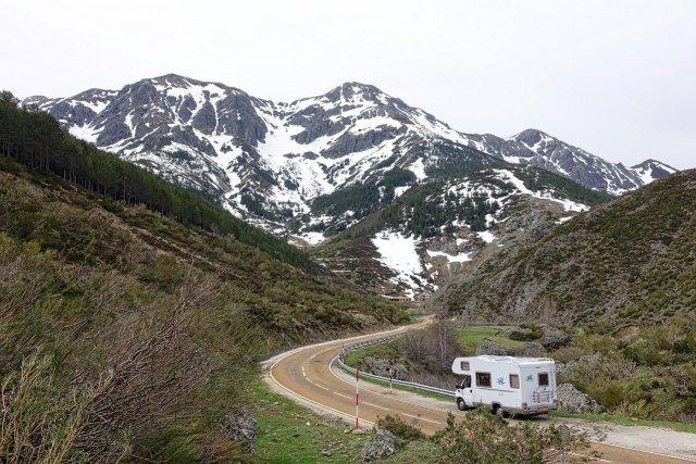 RV trip to the mountains