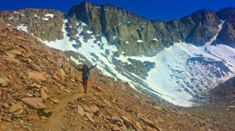 Legs conquers Mather Pass.