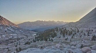 Under Mt. Whitney, we camped among granite boulders and marmot holes, planning our sunrise summit of Whitney.
