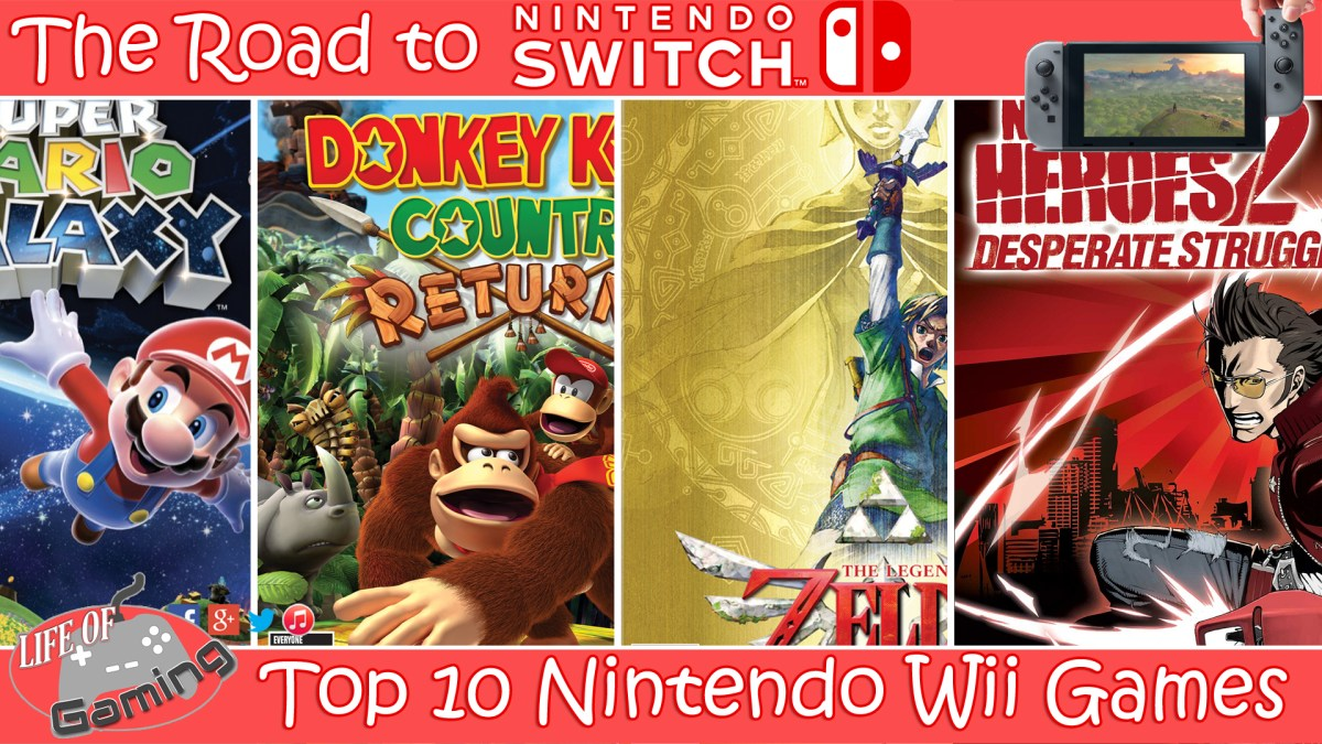 The Road To Nintendo Switch Top 10 Nintendo Wii Games
