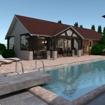 pool house, interior design, orangeville, shelburne, ontario, dufferin county