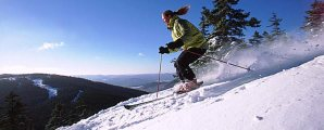Downhill Skiing: Burns about 410 calories per hour