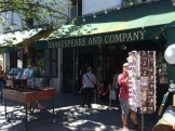 The Shakespeare & Company bookstore!