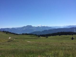 Mont Blanc from Semnoz