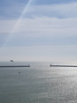Straits of Dover - France is on the Horizon!