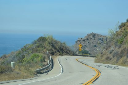 Pacific Coast Highway road