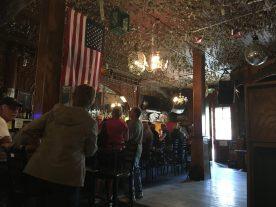 The bar Iron Door Saloon California