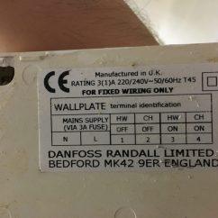 Danfoss Hsa3 Wiring Diagram Round Trailer Plug Randall Ltd Dual Cylinder Thermostat
