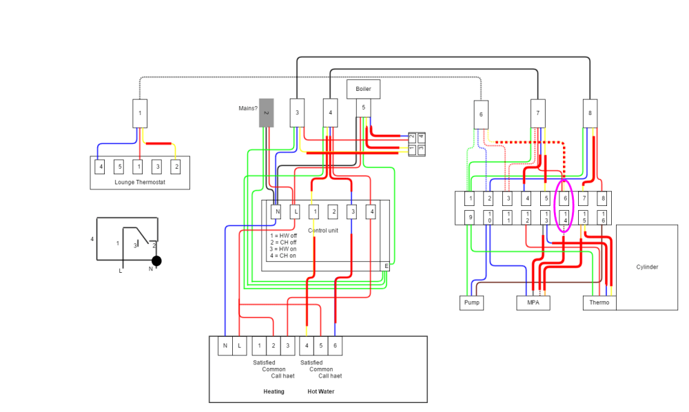 medium resolution of y plan central heating system wiring