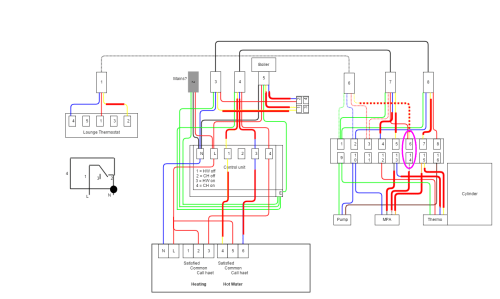 small resolution of y plan central heating system wiring