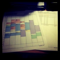Today is all about...planning and organising