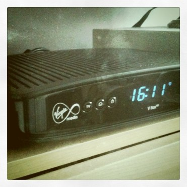 Today is all about...getting Virgin Media