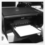 Today is all about...phoning Kodak to fix the constant paper jam issue