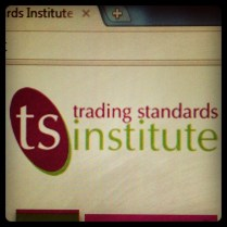 Today is all about...reporting an issue to trading standards