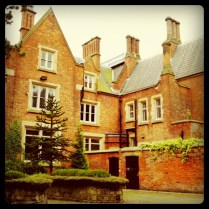 Today is all about...a walk around Abney Hall