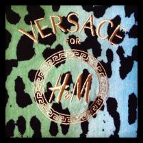 Today is all about...Versace for H&M launch