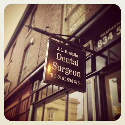 Today is all about...visiting the dentist for the first time in years