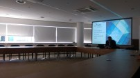 Lecture room at the Hague Conference