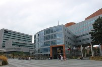 The Hague Conference building, with Europol in the background