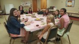 Tea party with Children of Mary!