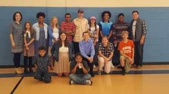 The youth group of St. Christopher's parish