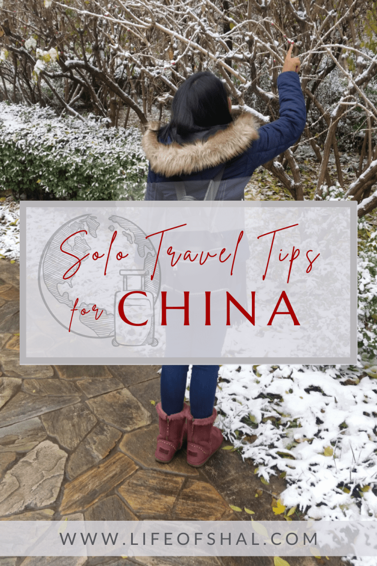 Solo Travel Tips For China