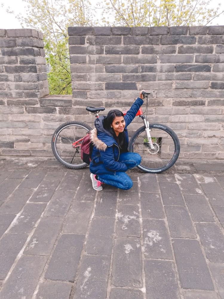 Biking The Walls of Xian