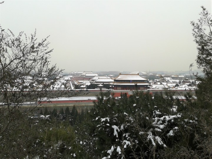 Snow at The Forbidden City: A Photo Diary