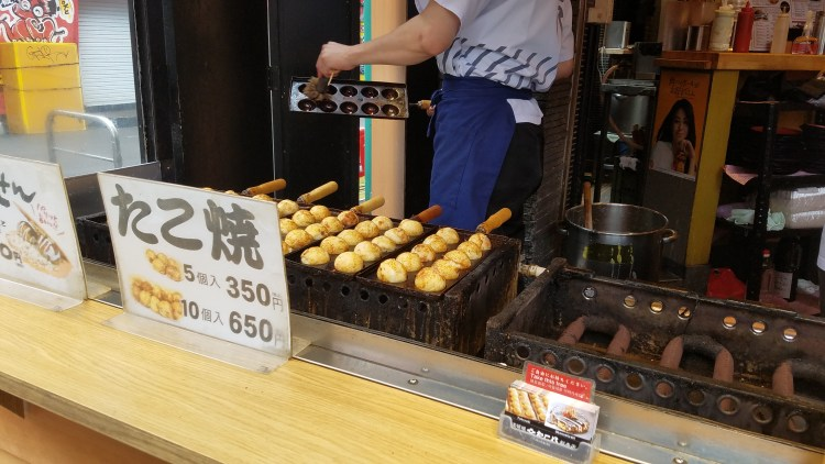 Life of Shal_Takoyaki in Osaka 3