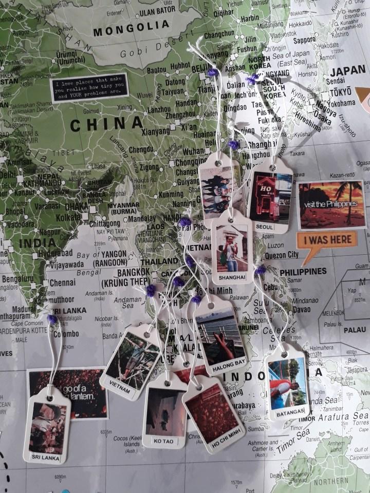 travel memory map