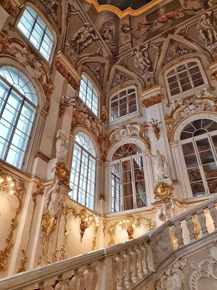 interior design of a building
