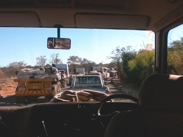 Traffic, Botswana Border