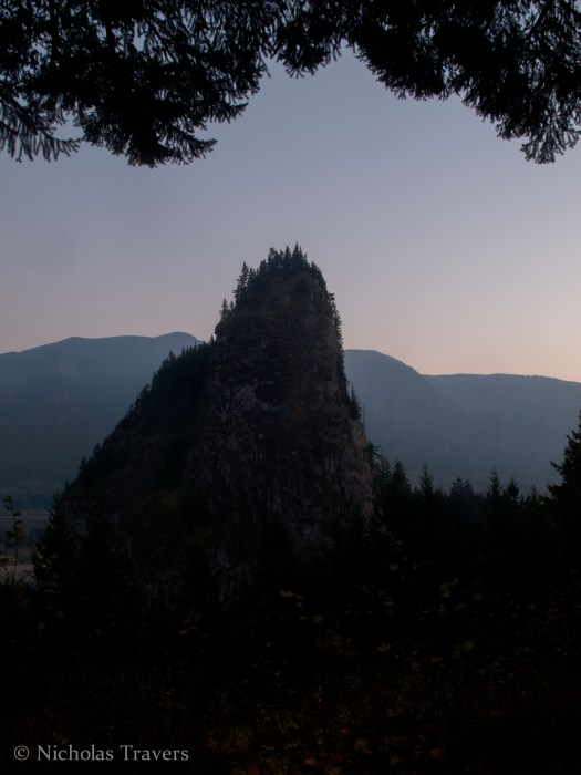 Beacon Rock at Dusk