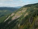 The little hoodoos of basalt rock crumbling away are just fascinating