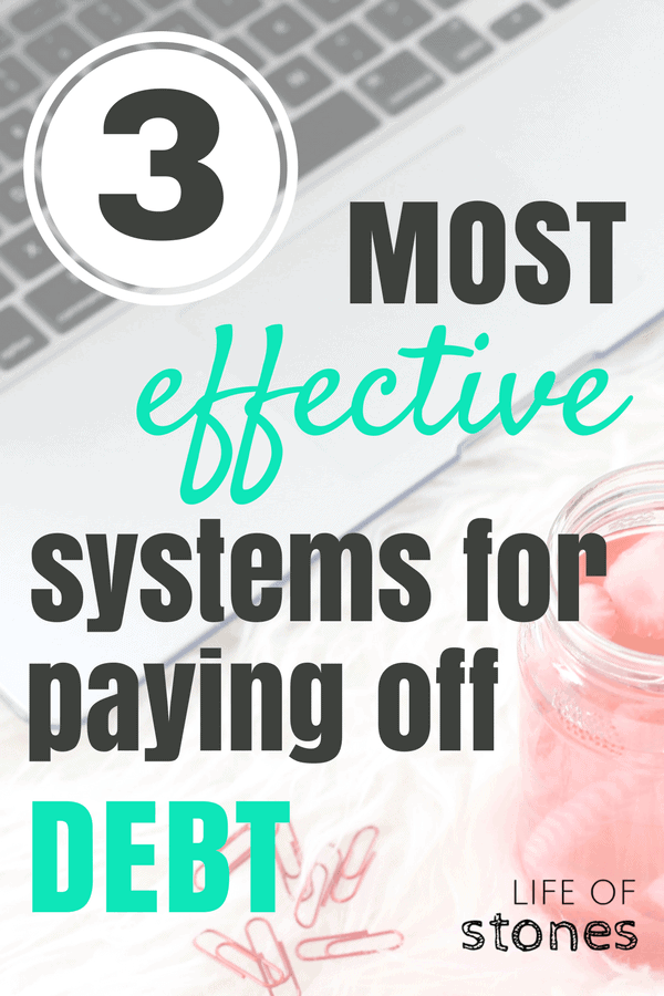 I was always so confused about the different methods of debt payoff! This article gave great examples of ways to get out of debt fast! It explains Dave Ramsey's debt snowball system, the debt avalanche and a third method for paying off debt! #debtpayoff #getoutofdebt #debtfree #DaveRamsey