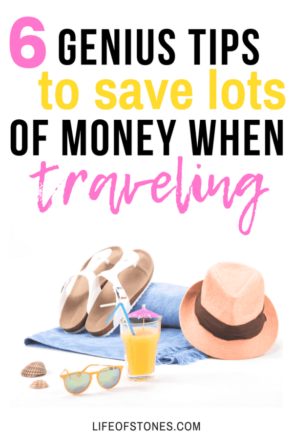 These tips were super helpful to save me so much money when planning our vacation! It is possible to travel on a budget. Check out these budget travel hacks! #budgettravel #travelhacks #travelonabudget