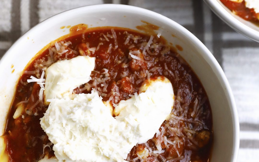 Easy Delicious Lasagna Soup perfect for any night
