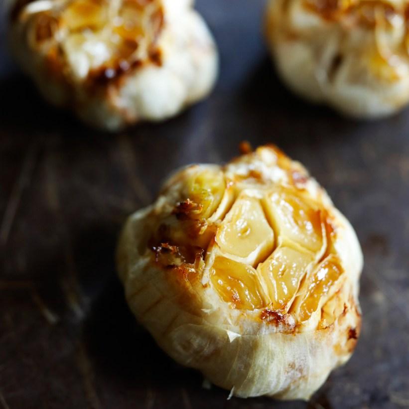 Adding garlic to a dish can make it healthier. Garlic is believed to help reduce imflammation.
