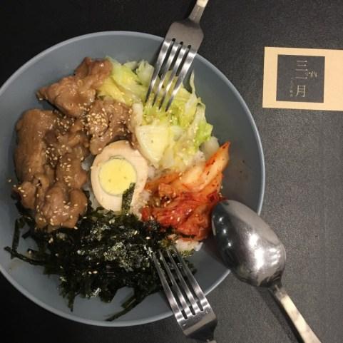韓式風格的三一月 住宅區裡的迷你咖啡館 咖啡輕食 熱壓土司