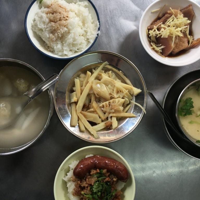 【彰化焢肉飯】天公壇控肉飯|爌(焢)肉飯|好吃的米糕|燉湯和古早味小菜