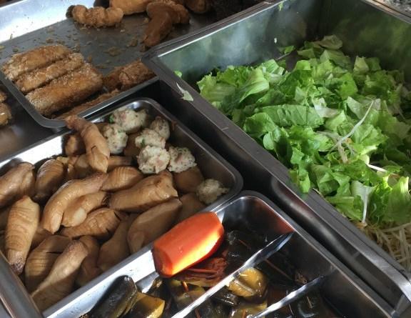【彰化好吃素食麵】民族路上藥膳素食麵|在地人的早餐店