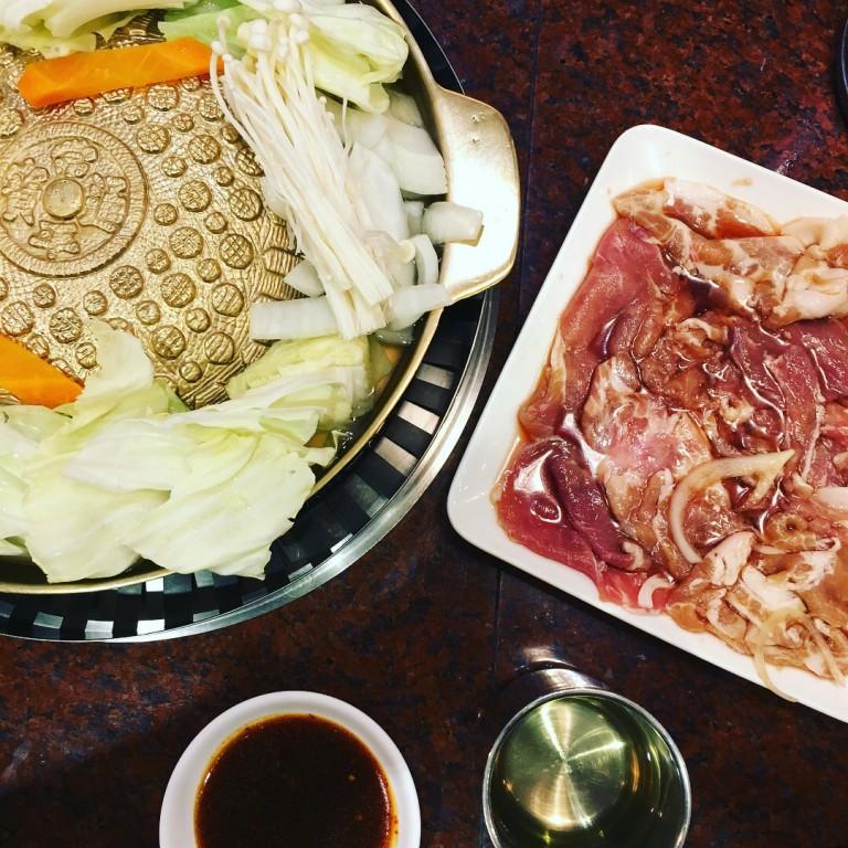 【彰化好吃火鍋】 銘谷韓國銅板烤肉|個人小火鍋|韓式料理|好吃小火鍋