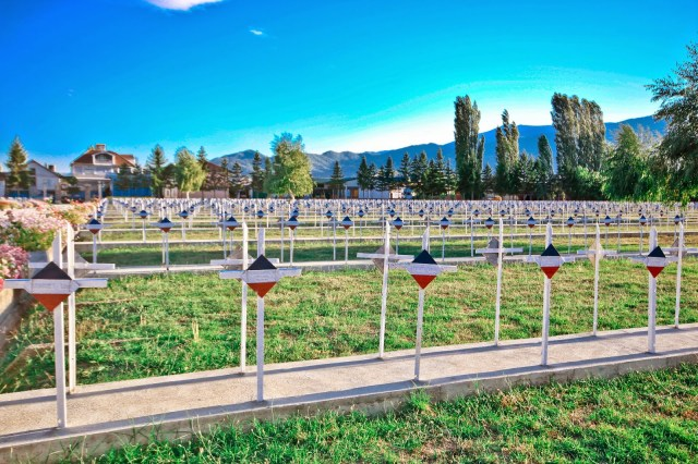 Things to See in Macedonia, Bitola, French Military Cemetery from WWI in Bitola, French Graves,