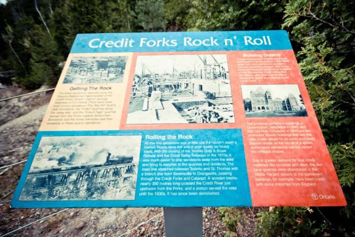 Forks Of the Credit, Forks Of the Credit Provincial Park, Cataract Mill Ruins, Cataract Falls, Hiking Trail Ontario,