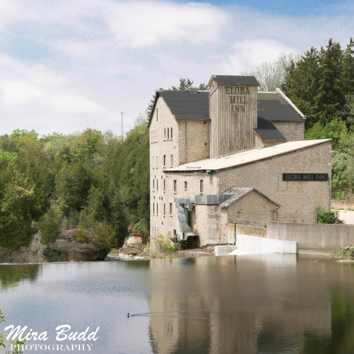 Mills in Ontario, Ontario Mill Ruins, Old Mills in Ontario, Elora Mill Inn,