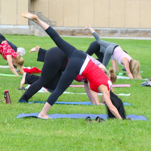 Things to do in Caledon, Beautiful Places in Ontario, Yoga in The Park