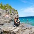 Indian Head Cove Tobermory Ontario